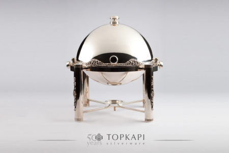 Round Revolving Chafing dish