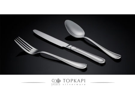 'Curves' silver plated cutlery