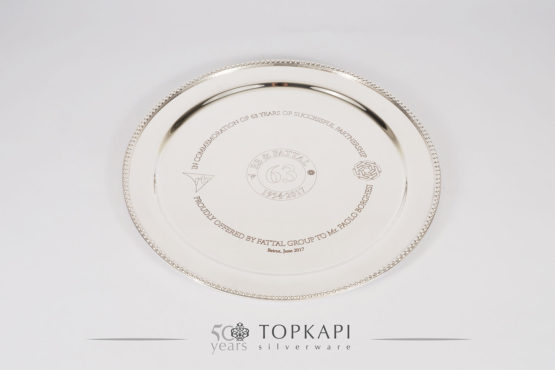 Round Award plate