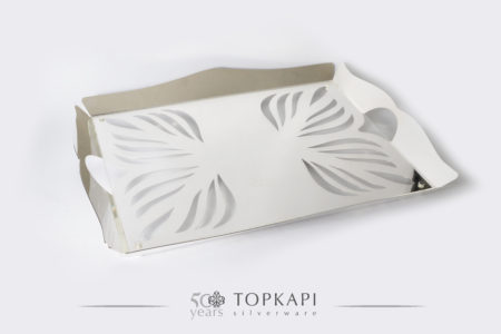 Topkapi-Rectangular 'Fig' tray