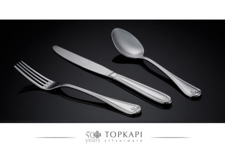 'Shell' silver plated cutlery