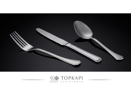 'Octo' silver plated cutlery