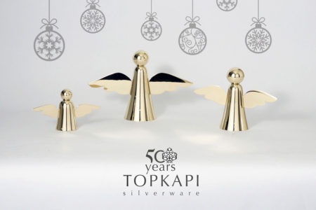 Topkapi's silver plated angels